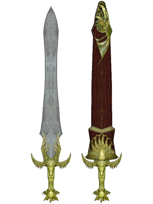 Elven Greatsword Oblivion Favorite looking sword - the elder scrolls v ...