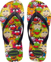 Havaianas muppet flip-flops 2012