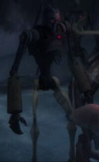 Unidentified junk droid