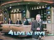 WNBC-TV's News 4 Live At 5 Video Open From Friday Evening, May 1, 1987
