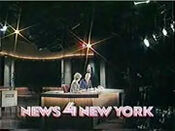 WNBC-TV's News 4 New York At 6 Video Open From Wednesday Evening, April 29, 1987