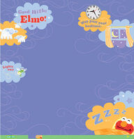 Ek success 2011 sesame paper elmo goodnight