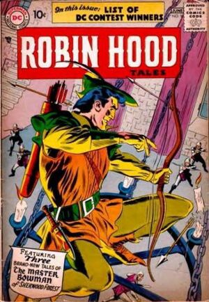 Cover for Robin Hood Tales #9