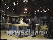 WNBC-TV's News 4 New York At 6 Video Open From Friday Evening, September 6, 1991