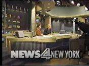 WNBC-TV's News 4 New York At 5 Video Open From Monday Evening, September 9, 1991