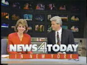 WNBC-TV's News 4 Today In New York Video Open From Tuesday Morning, January 14, 1992