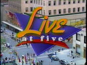 WNBC-TV's News 4 New York Live At 5 Video Open From Monday Evening, June 20, 1994