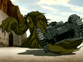 Swamp monster grabs a tank.png