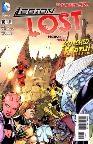 Cover for Legion Lost #10
