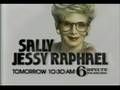 WPVI-TV's Sally Jessy Raphael Video Promo From Late 1987