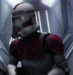 Unidentified clone shock trooper 9