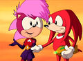 Sonia and Knuckles