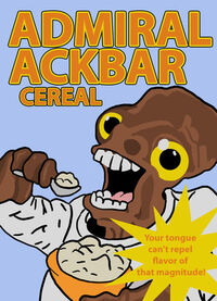 Admiral Ackbar Cereal
