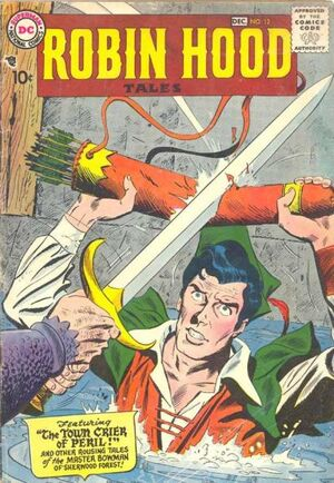 Cover for Robin Hood Tales #12