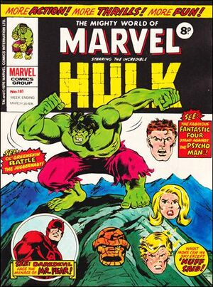 Mighty World of Marvel Vol 1 181