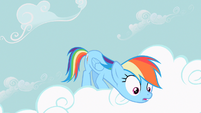 Rainbow Dash extended neck S2E8