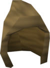 Woodcutting hood detail