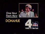 WNBC-TV's Donahue Video ID From Early 1980