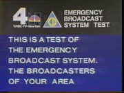 WNBC-TV's Emergency Broadcast System Test Video Promo From Early 1980