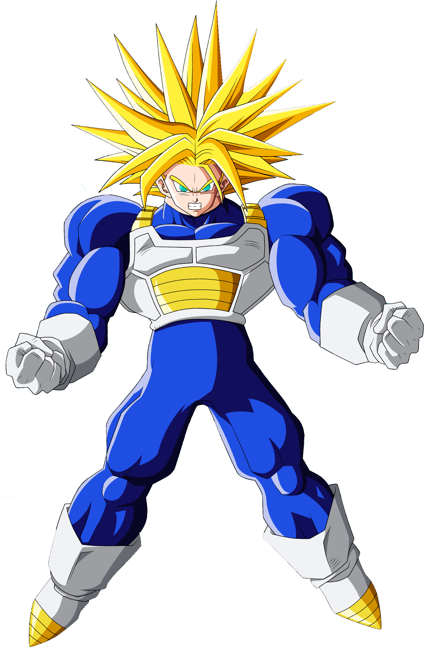 trunks del futuro convertido en ultra super saiyajin usuarios trunks ...