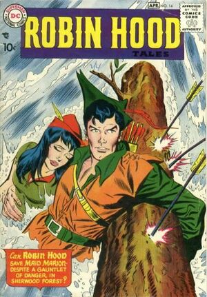Cover for Robin Hood Tales #14