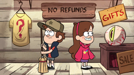 S1e1 dipper and mabel in mystery shack