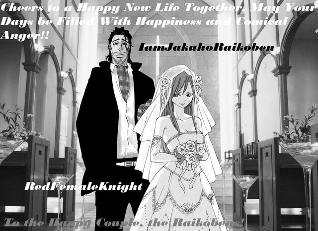 Jakuho&#39;s and Red&#39;s Wedding