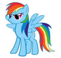 Rainbow dash vector-d438lb2