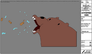 Modelsheet - Bearspittingoutpeanutdebris