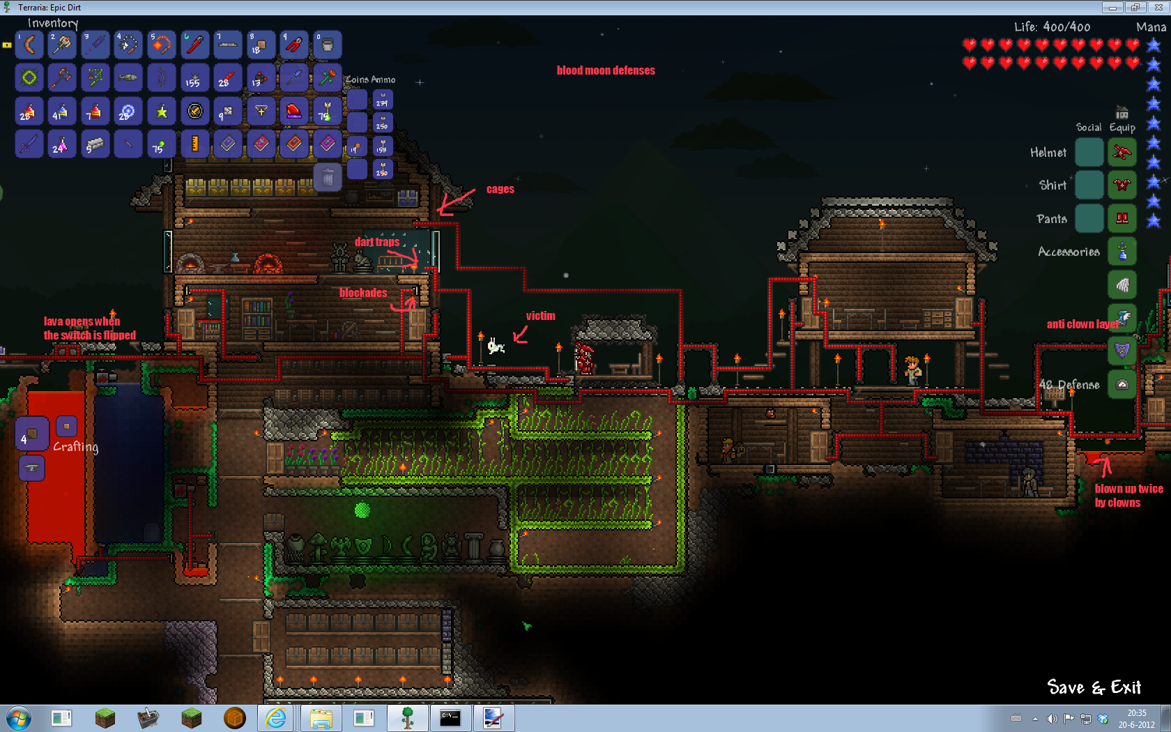 House Defense Terraria Wiki
