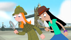 Candace and Stacy as Detectives