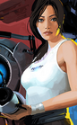 Chell poster crop