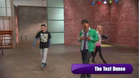 "Make Your Mark Shake It Up Dance Off - ""The Text Dance"""