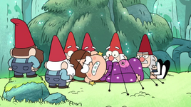 S1e1 gnomes tying mabel down