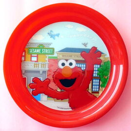 Jay franco elmo sunny days plate