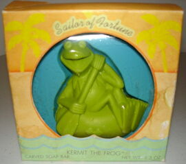 Hallmark 1981 soap sailor of fortune kermit