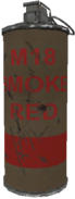 M18 smoke grenade red WaW