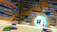Team Erza enter the library