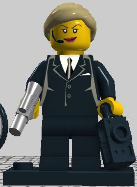 custom secret agent woman brickipedia the lego wiki. Black Bedroom Furniture Sets. Home Design Ideas