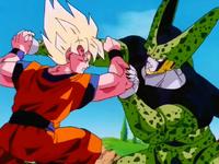 Dragon ball z episodio 1 (saga de cell completa) que lo disfruten 200px-GokuFullPowerSuperSaiyanVsCellK