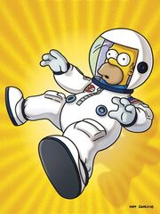 Deep Space Homer (Promo Picture)
