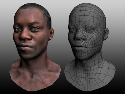 Game model african man by andyckh-d4vez3s