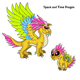 Space and Tme Dragon