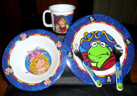 Selandia 1996 muppet treasure island dinnerware 1