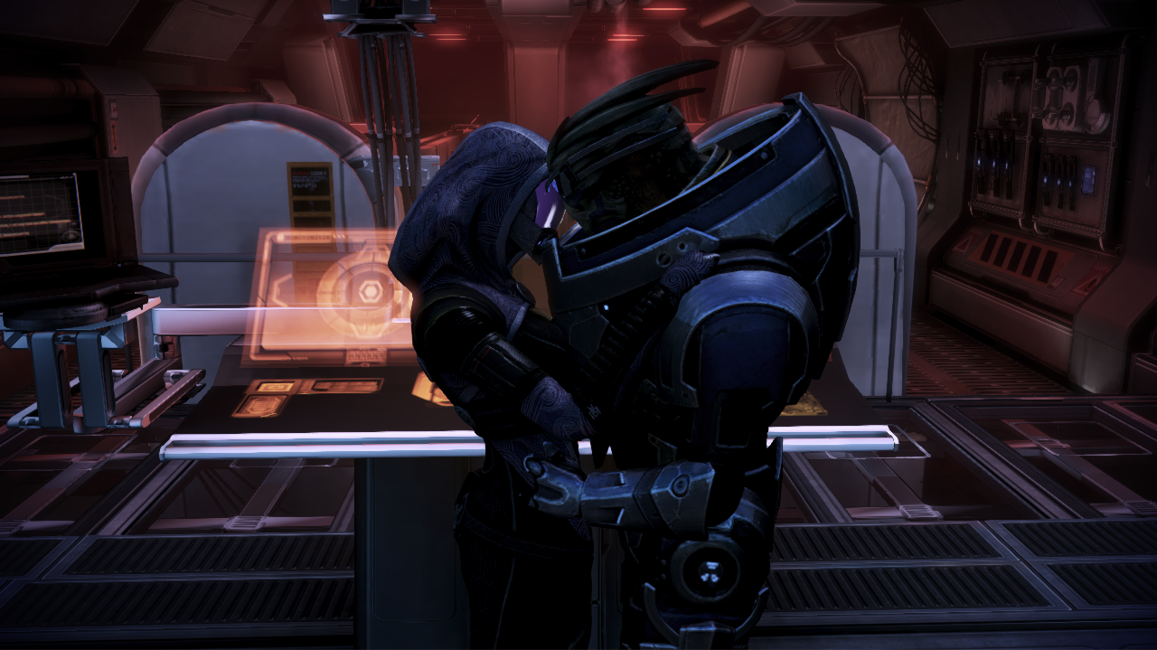 relationship with garrus