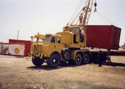 1963 AEC AWD Jones KL10-6 Cranetruck 6X6