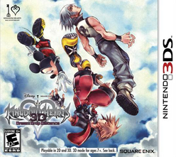 Kingdom Hearts 3D Dream Drop Distance Boxart NA