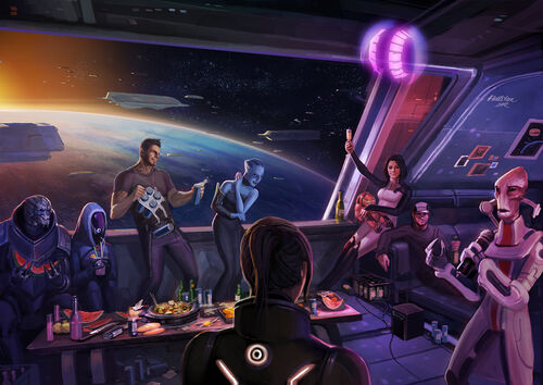 Mass Effect Party!