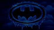 Frozen Batman Logo