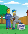 Homer and Ned&#39;s Hail Mary Pass (Promo Picture) 3